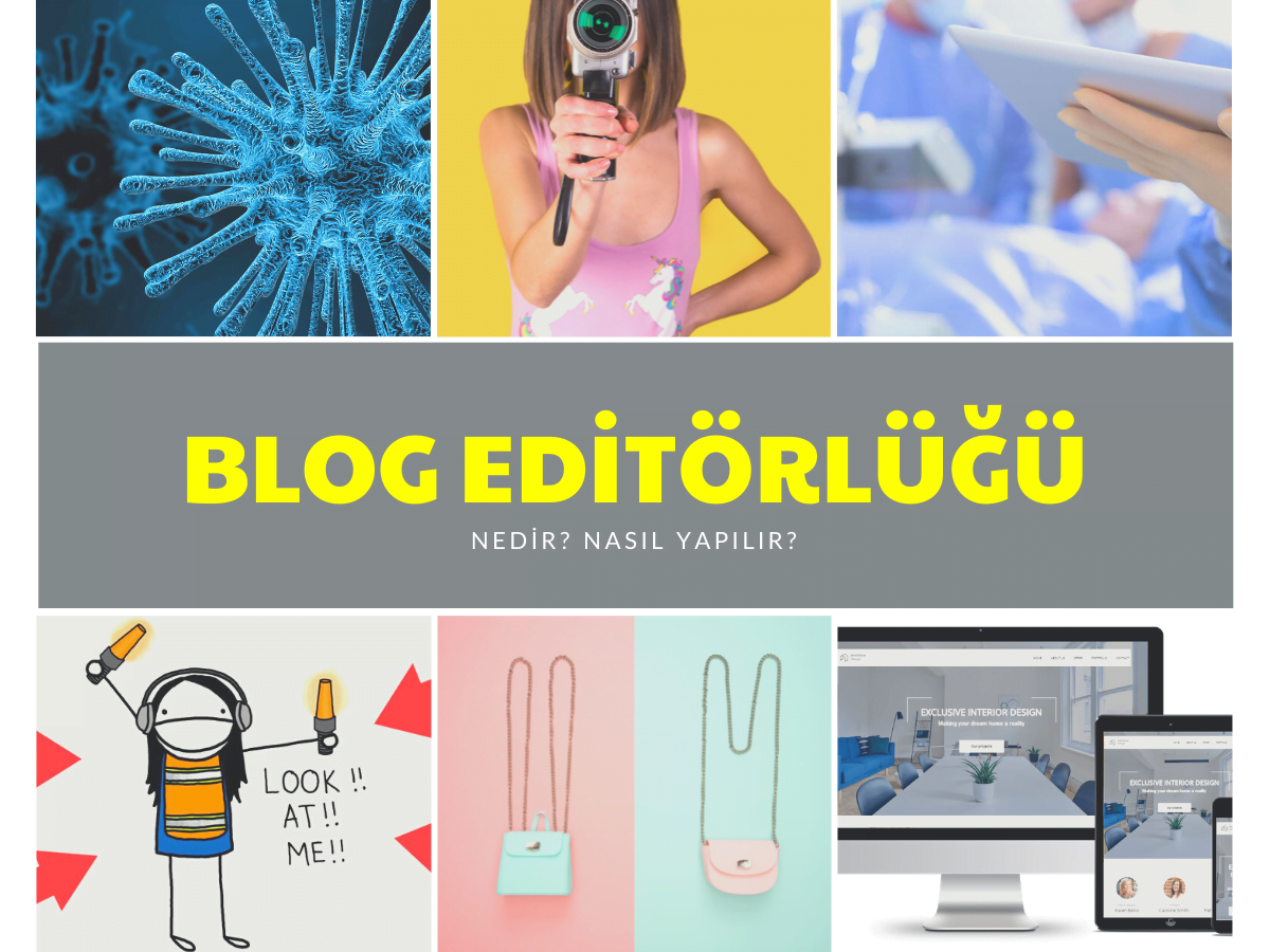 blog editörü kime denir